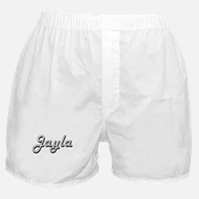 Jayla Classic Retro Name Design Boxer Shorts