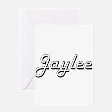 Jaylee Classic Retro Name Design Greeting Cards