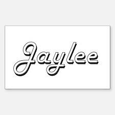 Jaylee Classic Retro Name Design Decal