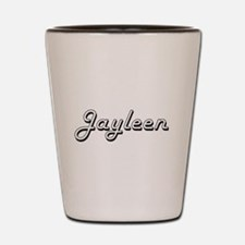 Jayleen Classic Retro Name Design Shot Glass