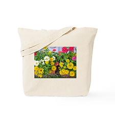 Zinnia Flower - Tote Bag