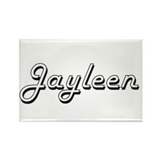 Jayleen Classic Retro Name Design Magnets