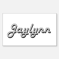 Jaylynn Classic Retro Name Design Decal