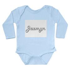 Jazmyn Classic Retro Name Design Body Suit