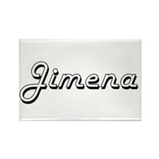 Jimena Classic Retro Name Design Magnets
