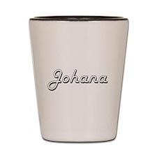 Johana Classic Retro Name Design Shot Glass
