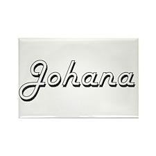 Johana Classic Retro Name Design Magnets