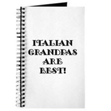 Italian Grandpas Are Best Journal