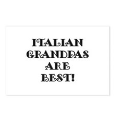 Italian Grandpas Are Best Postcards (Package of 8)