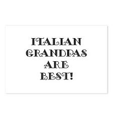 Italian Grandpas Are Best Postcards (Package of 8)
