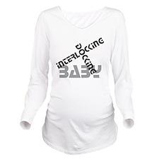 Baby Docking Long Sleeve Maternity T-Shirt
