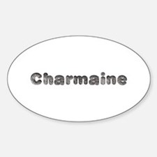Charmaine Wolf Oval Decal