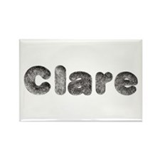 Clare Wolf Rectangle Magnet