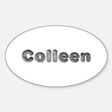 Colleen Wolf Oval Decal