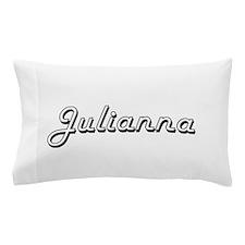 Julianna Classic Retro Name Design Pillow Case