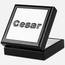 Cesar Wolf Keepsake Box