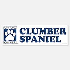 CLUMBER SPANIEL Bumper Bumper Bumper Sticker