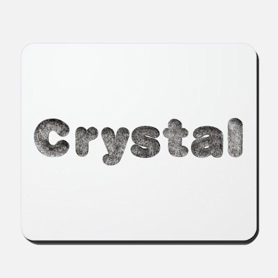 Crystal Wolf Mousepad