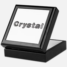 Crystal Wolf Keepsake Box