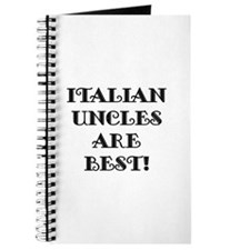 Italian Uncles Are Best Journal