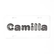Camilla Wolf Aluminum License Plate