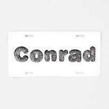 Conrad Wolf Aluminum License Plate