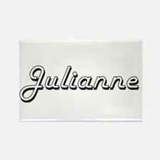 Julianne Classic Retro Name Design Magnets