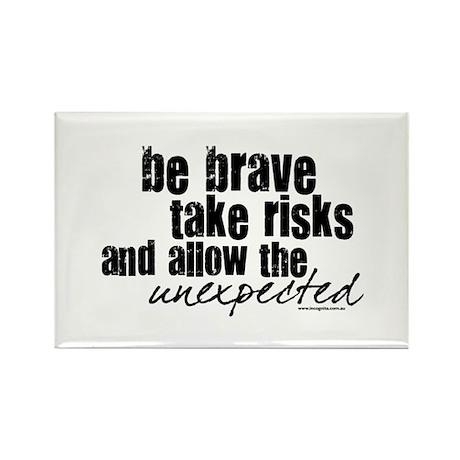 Be Brave Rectangle Magnet (10 pack)