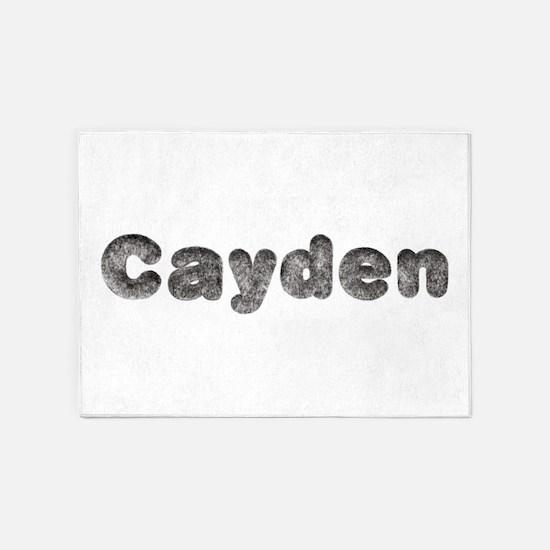 Cayden Wolf 5'x7' Area Rug