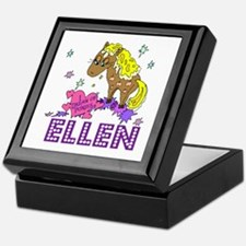 I Dream Of Ponies Ellen Keepsake Box