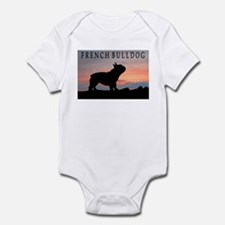 French Bulldog Sunset Infant Bodysuit