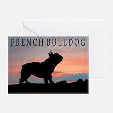 French Bulldog Sunset Greeting Cards (Pk of 10)