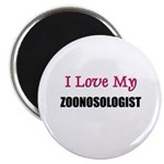 I Love My ZOONOSOLOGIST Magnet