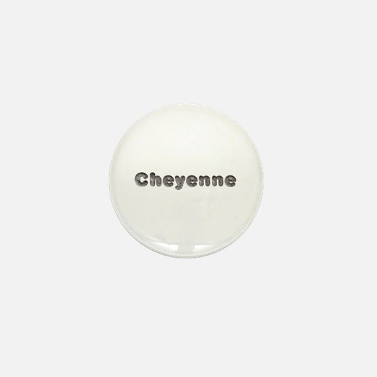 Cheyenne Wolf Mini Button