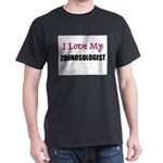 I Love My ZOONOSOLOGIST Dark T-Shirt