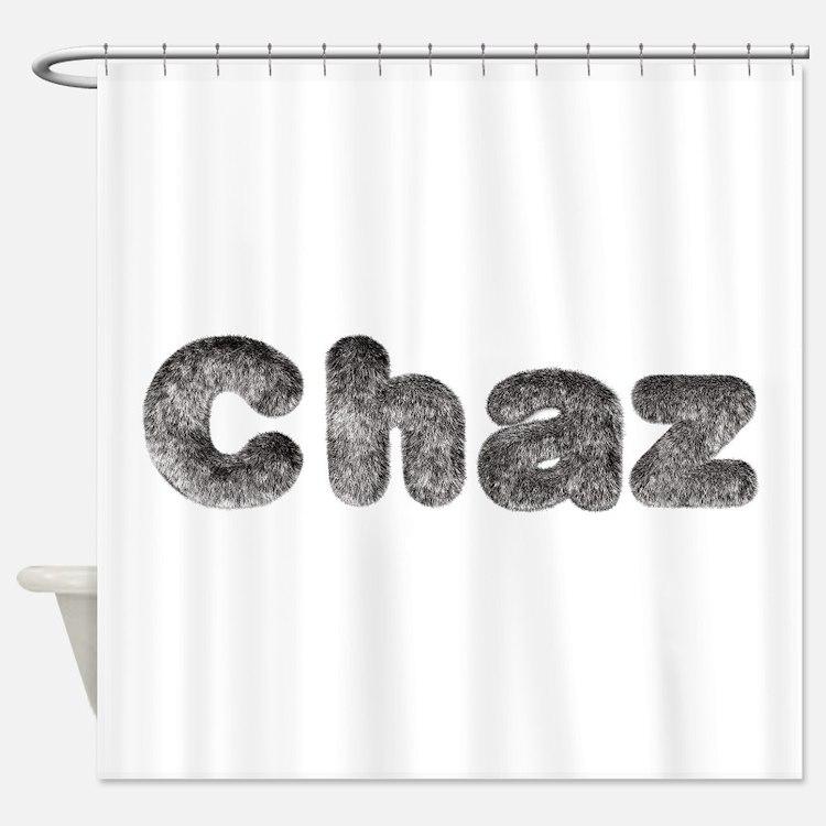 Chaz Wolf Shower Curtain