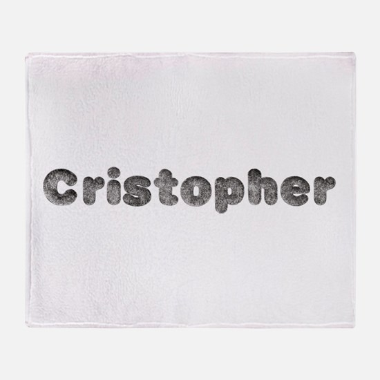 Cristopher Wolf Throw Blanket