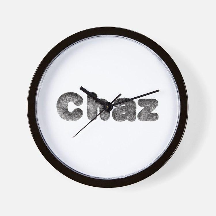 Chaz Wolf Wall Clock