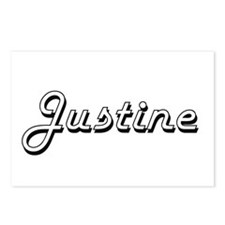 Justine Classic Retro Nam Postcards (Package of 8)