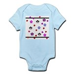 Hearts and Flowers Infant Bodysuit