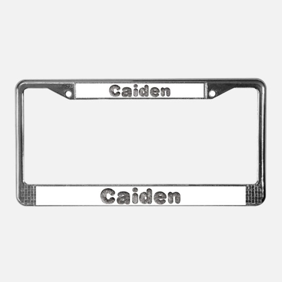 Caiden Wolf License Plate Frame