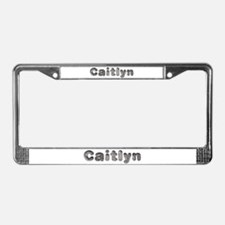 Caitlyn Wolf License Plate Frame
