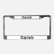 Caleb Wolf License Plate Frame