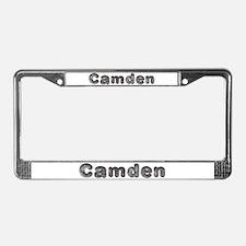 Camden Wolf License Plate Frame