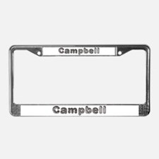 Campbell Wolf License Plate Frame