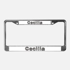 Cecilia Wolf License Plate Frame