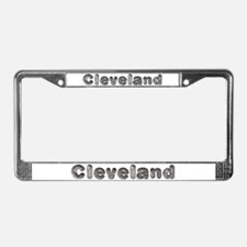 Cleveland Wolf License Plate Frame