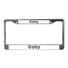 Coby Wolf License Plate Frame