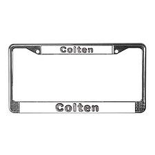 Colten Wolf License Plate Frame