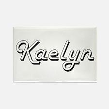 Kaelyn Classic Retro Name Design Magnets